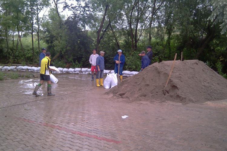 Vom scapa oare de inundatii in Cluj-Napoca? 23 de milioane de euro, investiti in amenajarea Somesului Mic si a afluentilor- VEZI harta lucrarilor