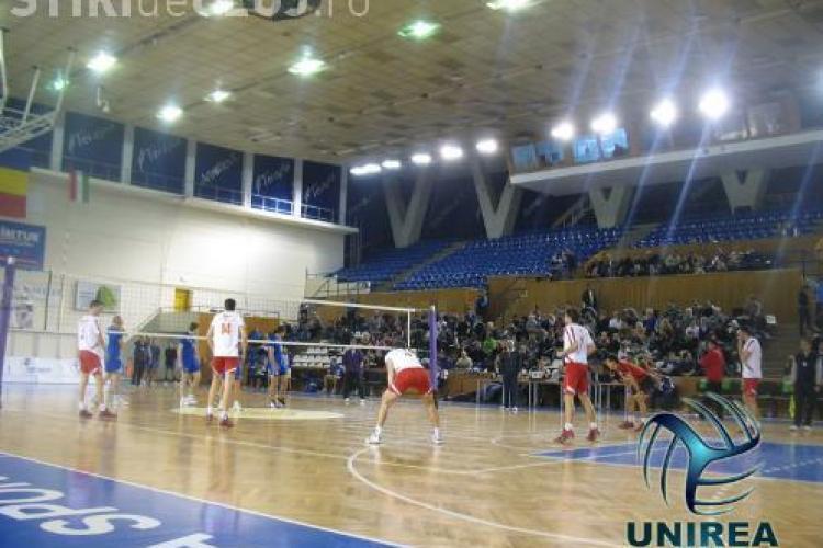 Unirea Dej a pierdut meciul cu grecii de la EA Patron Lux, din optimile Challenge Cup