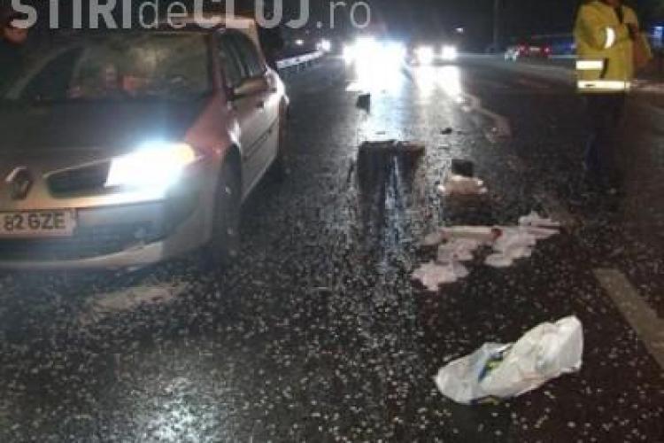 Accident la Cuzdrioara! Un batran de 70 de ani a fost lovit de o masina si proiectat 20 de metri - VEZI FOTO