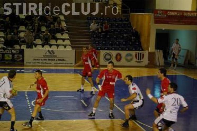 Handbal: U Transilvania Cluj are programate 8 meciuri de verificare