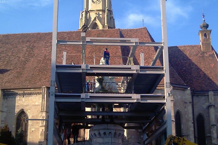 Emil Boc aloca 1,5 milioane de lei pentru statuia lui Matei Corvin! VEZI cat a costat toata lucrarea - VIDEO