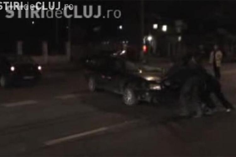 A lovit o persoana pe strada Corneliu Coposu si a fugit de la locul accidentului