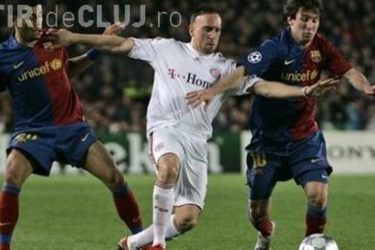 Ribery si-a luat un adversar in spate in timpul unui amical - VIDEO