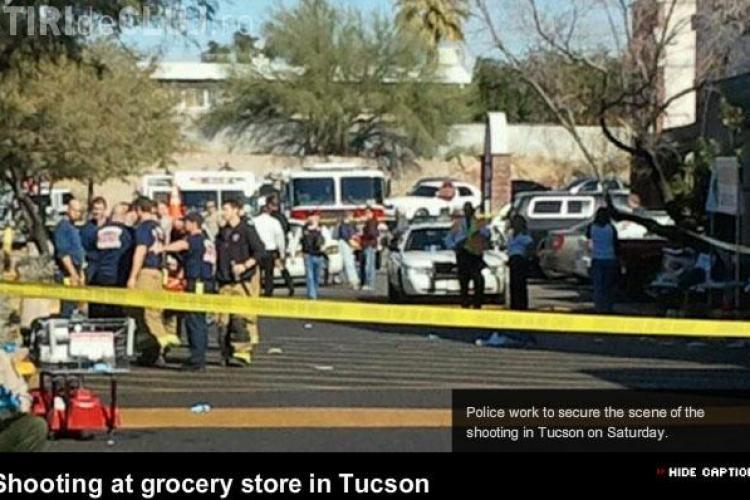 Atac armat sangeros in SUA. Printre victime - un congressman si o fetita de 9 ani