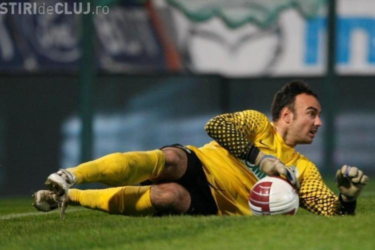 Sebastian Hutan, dat afara de U Cluj