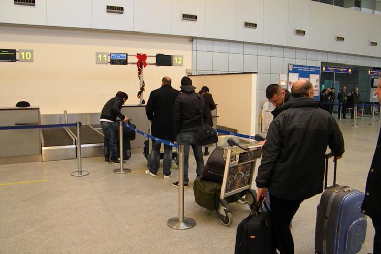 Ceata a blocat si Aeroportul International Cluj! Sase curse sunt anulate, au intarziere sau au fost deviate