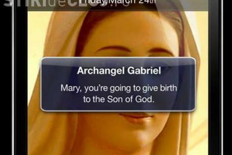 Povestea controversata a nasterii lui Isus in varianta Facebook si Twitter face furori pe Youtube! Peste 7 milioane de utilizatori au accesat-o! VIDEO