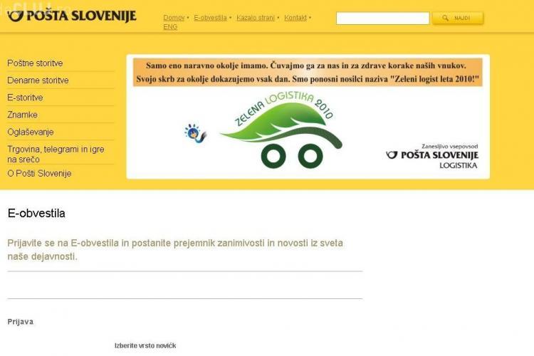 Frunza lui Udrea, folosita si de Posta din Slovenia! - Vezi FOTO