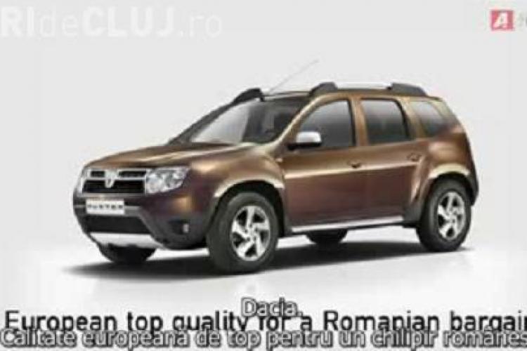 "Dacia Duster, promovata printr-o reclama socanta: ""Taci dracu', altfel imi flutur castravetele pe sub mustata ta, tigan jegos!"" - VIDEO"