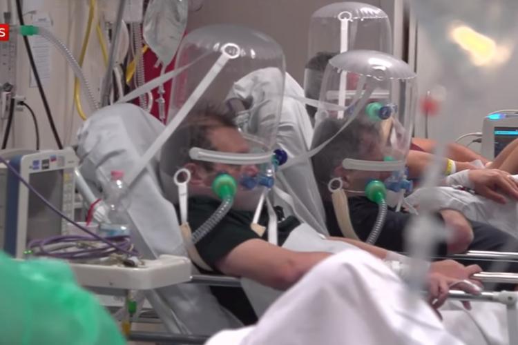 O echipă de televiziune a filmat în Italia: Medicii vor ca toată lumea să vadă cum arată lupta cu coronavirusul: E APOCALISPA - VIDEO