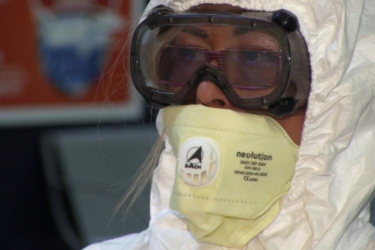 Caz nou de Coronavirus confirmat la Cluj de medicii epidemiologi pe baza unei probe trimise din Hunedoara