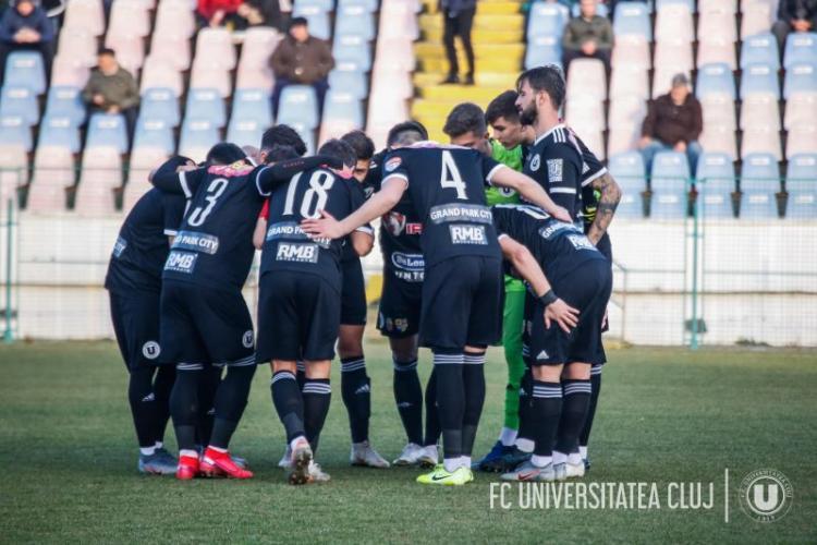 U Cluj a pierdut meciul cu Metaloglobus, în prelungiri; Echipa e varză! Demisia!