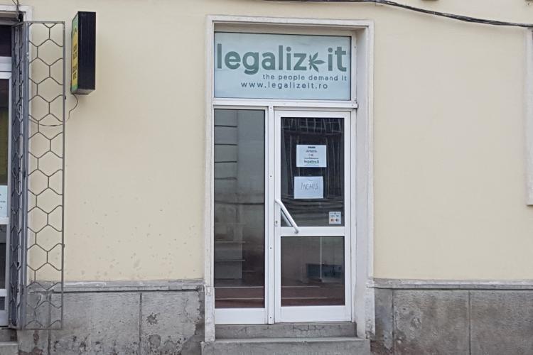 Magazinul care vinde cannabis la Cluj a fost închis de Antidrog și Protecția Consumatorilor FOTO