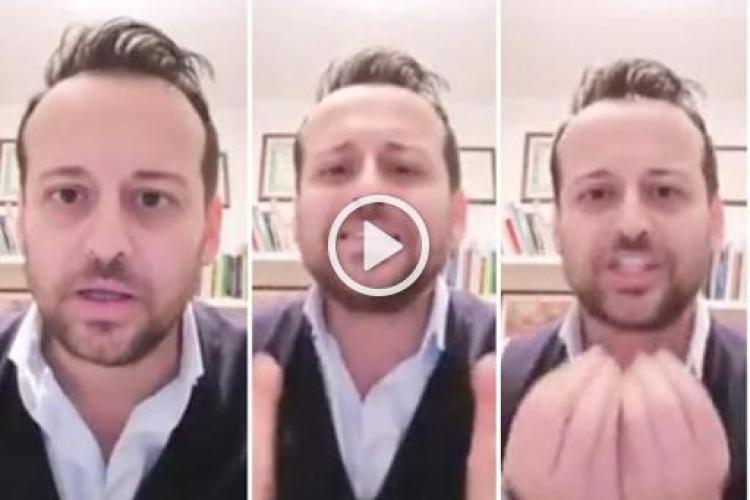 Reacție VIRALĂ a unui primar din Italia furios pe locuitori: Sunteți stresați? Bunicii noștri erau stresați când mergeau la război! - VIDEO
