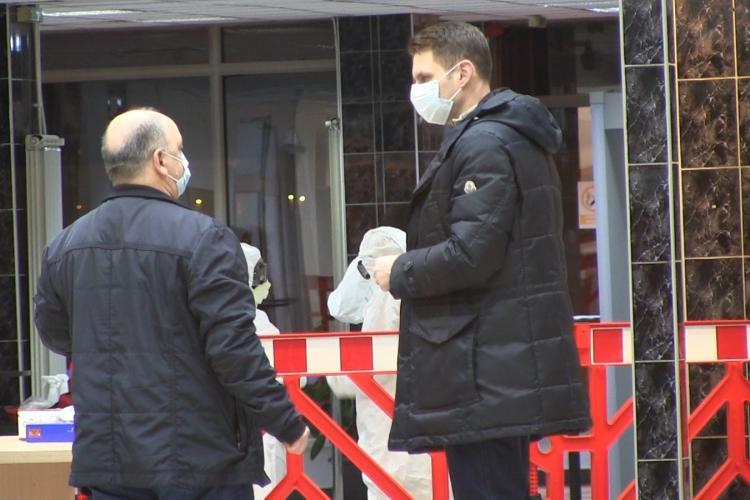 Cluj: Ies din izolare persoanele care au intrat în 24 februarie