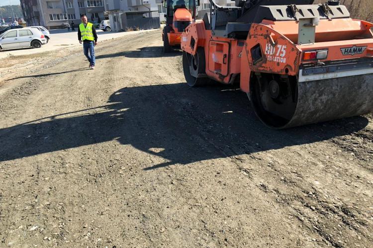 Florești: Se asfaltează drumurile de pe traseul centurii de Sud