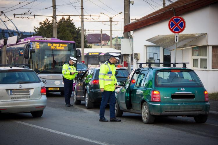 Razie de amploare la Cluj-Napoca. Câte amenzi s-au dat în doar două ore