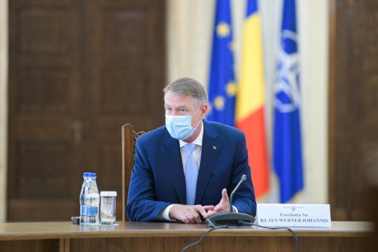 Klaus Iohannis: Vom gândi un plan de relaxare, dar după 15 mai. Vom trăi cu restricții