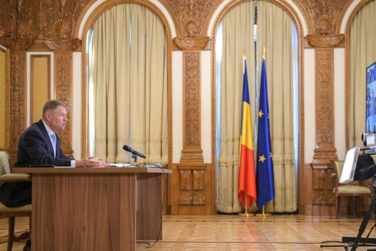 Iohannis: Starea de urgență se va prelungi 30 de zile