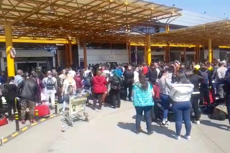 Dovada că Aeroportul Cluj l-a notificat pe Alin Tișe că sunt probleme cu cei 1800 de oameni și că firma GOTO nu își face treaba