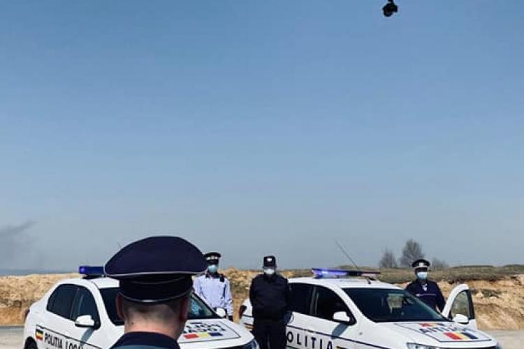 Polițiștii clujeni păzesc zonele de grătare cu dronele. Ce amenzi riscă cei care ies la iarbă verde FOTO