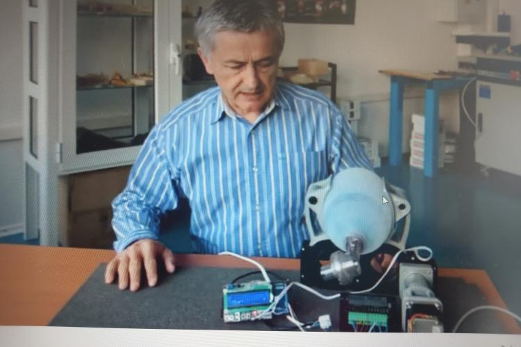 VIDEO - Profesorii ingineri de la UTCN au realizat un ventilator ATI la imprimanta 3D