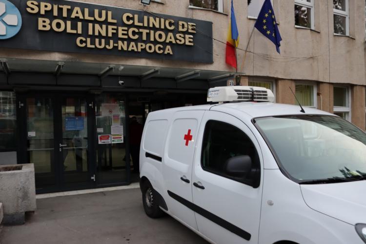 Bărboșii clujeni au livrat un aparat important de testare Spitalului Clinic de Boli Infecțioase Cluj