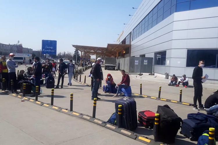GOTO Parking, firma care a gestionează parcarea de la Aeroport, nu a intervenit pentru că cei 1.800 de muncitori de joi nu erau clienții parcării