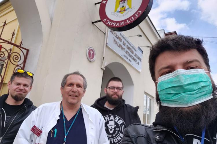 Beard Brothers, Vă ajutăm din Cluj și CERT Transilvania își unesc forțele în lupta cu coronavirusul