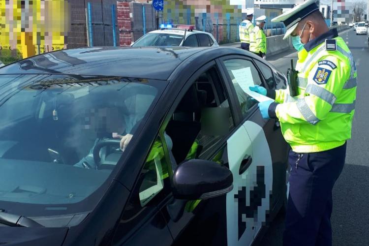 Controale în trafic în tot Clujul! Au fost vizați transportatorii de persoane FOTO