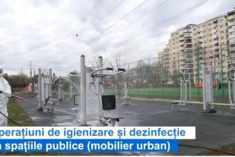 Cluj-Napoca: Acțiuni de dezinfecție la blocurile de locuințe