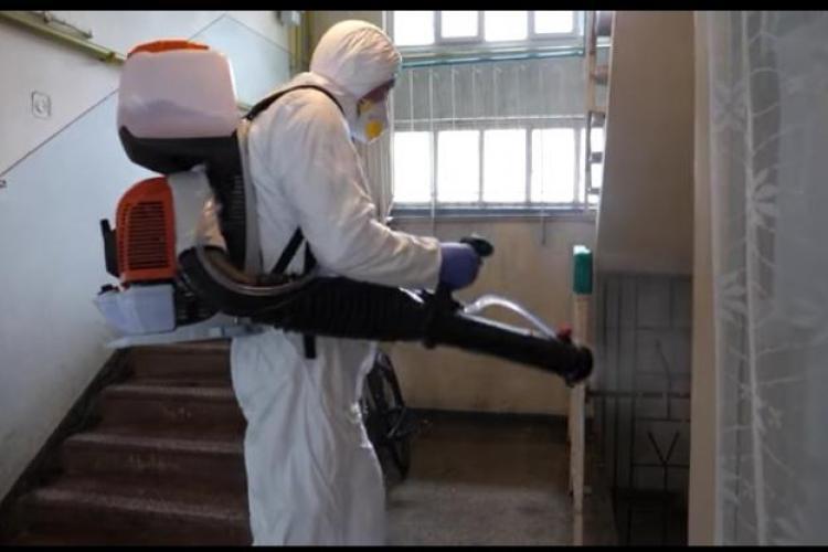 Cluj-Napoca: Pe ce străzi se face dezinfecție joi, 2 aprilie