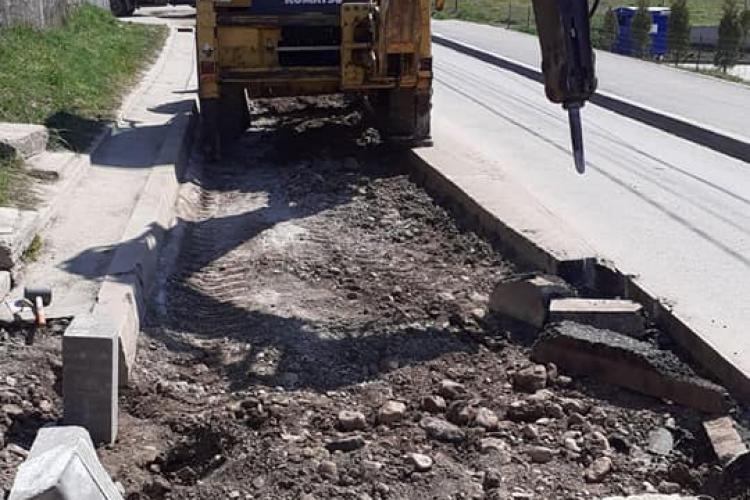 Străzi din Florești conectate la canalizare