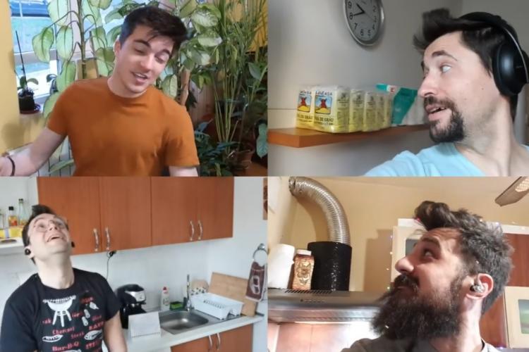 Să râdem cu băieții de la Ad Libitum! Au făcut o parodie cu toată goana după drojdie și făină - VIDEO