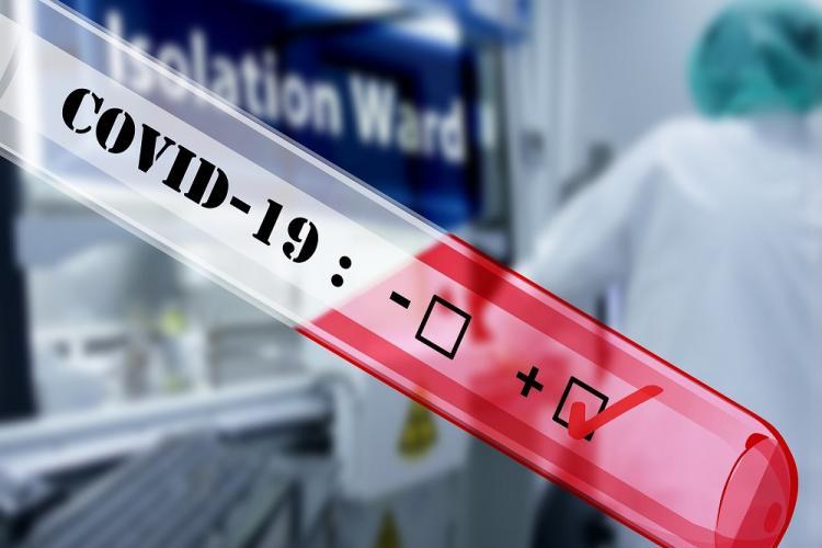 Încă un clujean infectat cu coronavirus a murit. Bilanțul deceselor a ajuns la 168