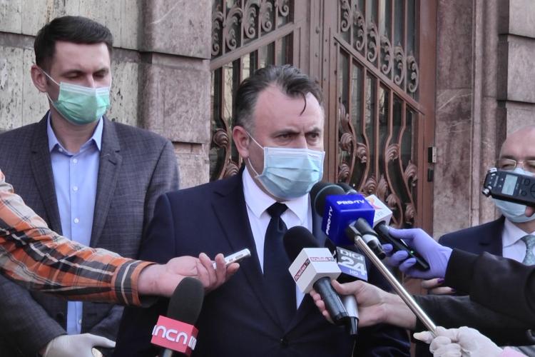 Ministrul Sănătății laudă Clujul: E un model de bune practici - VIDEO