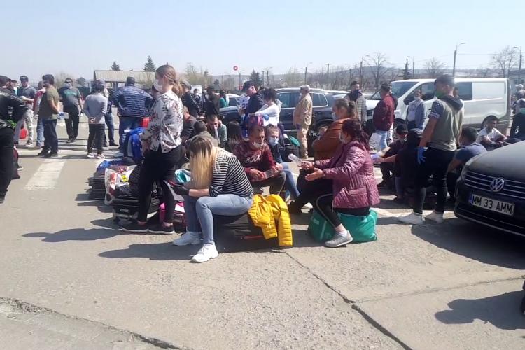 Vineri zboară de la Cluj 4 avioane cu sute de muncitori spre Germania