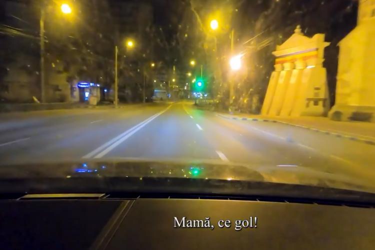 """Mesajul lui Ștefan Mandachi: de 34 de ani nu am văzut orașul Suceava așa gol. """"Omul autostradă"""" a filmat pustiul - VIDEO"""