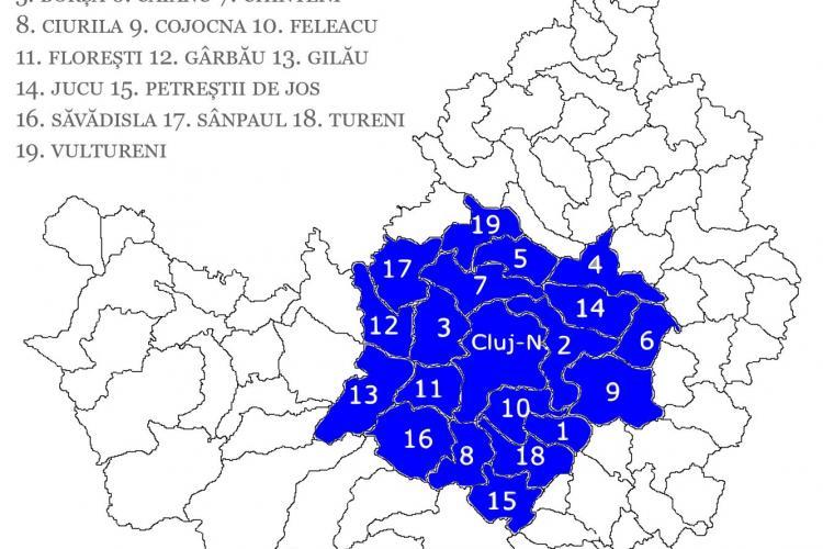 Clujenii nu au nevoie de declarație pentru a circula în Zona Metropolitană