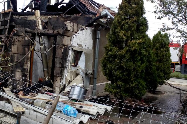 CLUJ: Incendiu la o gospodărie din Iclod. De la ce a pornit totul FOTO