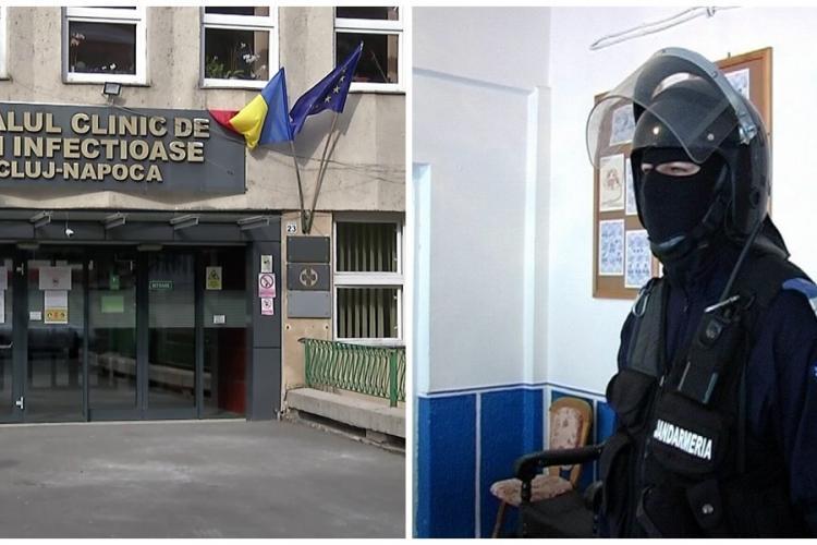 Pacienții cu coronavirus s-au răsculat la Clinica de Contagioase Cluj! Jandarmii au intervenit. Motivul răscoalei este HALUCINANT