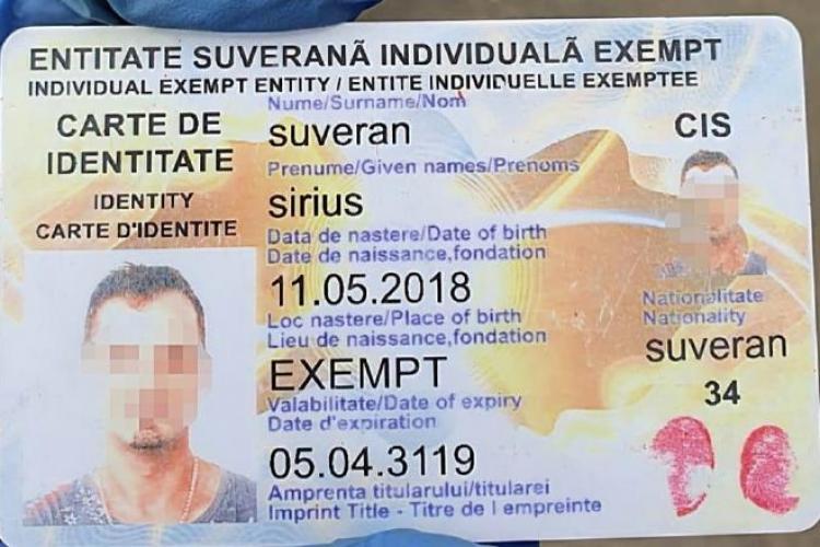 Un român a prezentat un buletin care expiră în anul 3119 - FOTO