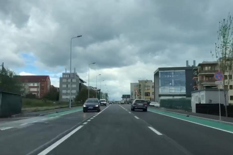 Cum arată strada Bună Ziua după modernizare. Încă nu a fost inaugurată oficial - VIDEO