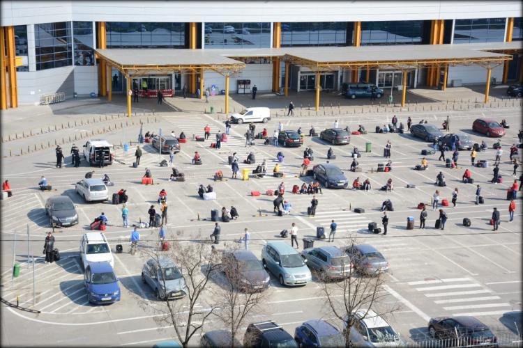 Sunt zboruri de la Cluj cu muncitori spre Germania până în 17 mai. Cât de afectat este Aeroportul de criză