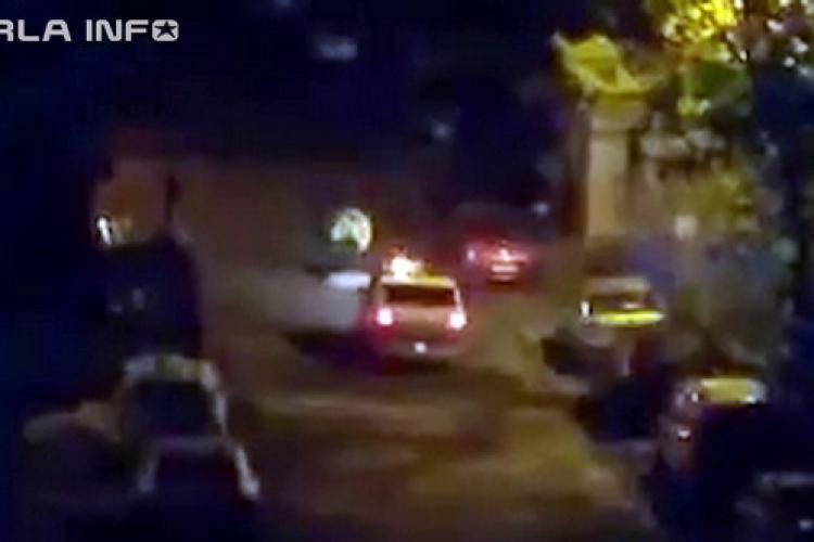 Urmărire pe străzile din Gherla în plină pandemie. Polițiștii au gonit după un șofer beat la volan VIDEO