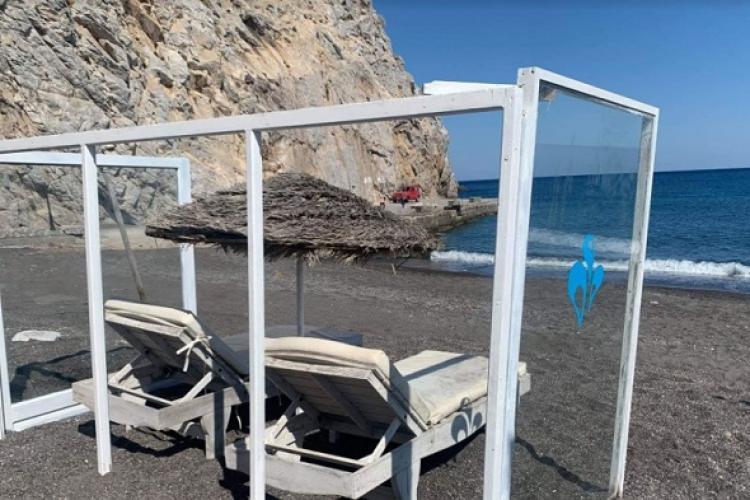 Grecia a prezentat cum se va face plajă în acest an - VIDEO