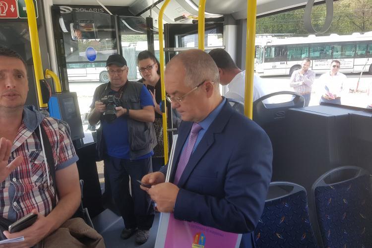 Boc anunță reguli privind transportul public: Se circulă NUMAI cu mască și se urcă NUMAI pe la șofer