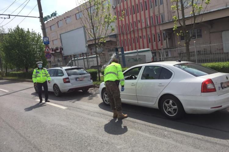 Sute de amenzi aplicate de polițiștii clujeni în minivacanța de 1 mai FOTO