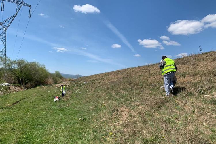 Malul Someșului din Florești a fost igienizat - FOTO
