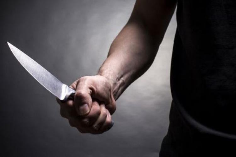 CLUJ: Tâlhar fugărit de mai mulți bărbați după ce a furat o OAIE. A aruncat cu cuțitul după ei